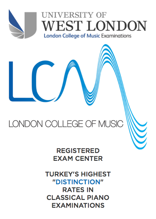 LCM London College of Music Registered Exam Center Istanbul