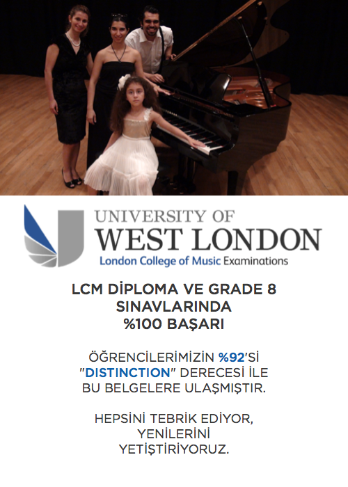LONDON COLLEGE OF MUSIC EXAM CENTER ISTANBUL